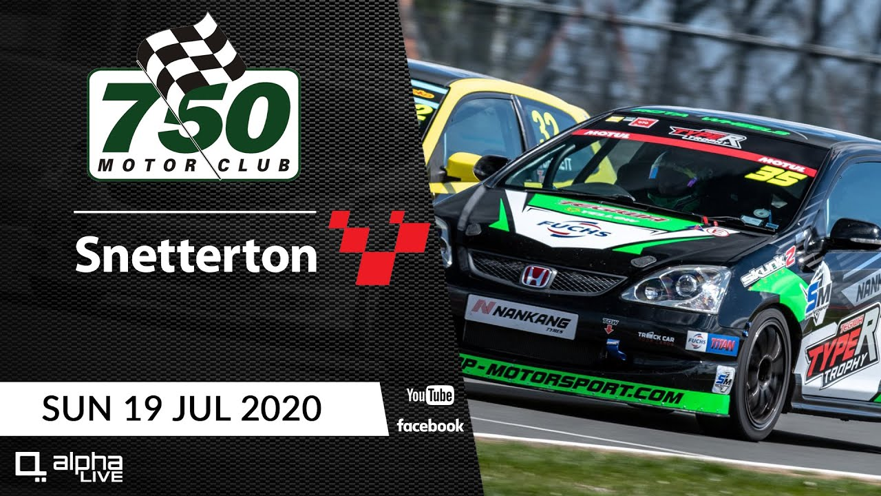 750 Motor Club LIVE from Snetterton 200 - 19th July