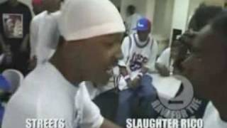 Streets vs Slaughter Rico - 2 Raw For The Streets vs Hood Life