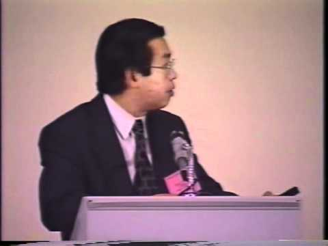 1995 Henry Darcy Lecture Series - Paul Hseih (part 1)