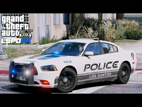 GTA 5 LSPDFR #575 Los Santos Police Department City Patrol - We Fixed Our Game! Happy Thanks Giving!