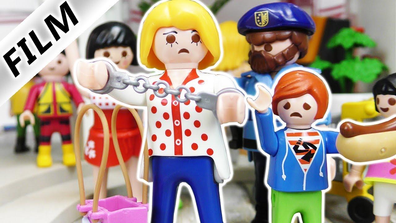 Playmobil Film Deutsch Mama Wird Verhaftet Beim Klauen Erwischt