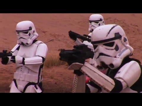 STAR WARS FAN FILM -THE SECRET IN THE SAND-PART 1 of 2