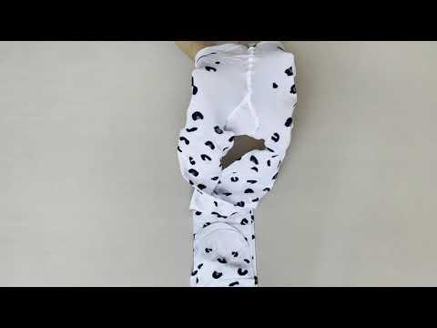 Prezentare ciorapi cu model animal print Knittex Sierra 40 den