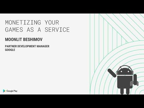Monetizing your games as a service (Indie Developer Day, Seattle 2018)