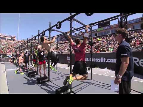 2012 CrossFit Games - Bar Muscle-up/Chipper: Team, Heat 3