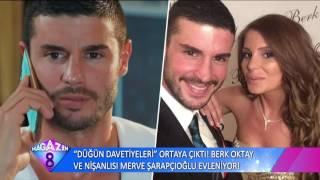 Berk Oktay ve Nişanlısı Merve Şarapçıoğlu'nun Düğün Davetiyesindeki İlginç Detaylar