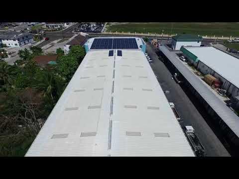 Pinder Tile Island Solar Installation Nassau  Bahamas