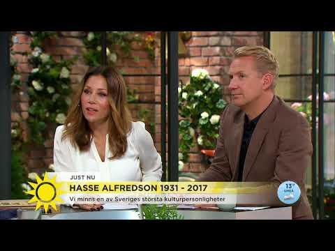 """""""Hasse Alfredson: Så unikt och gränsöverskridande"""" - Nyhetsmorgon (TV4)"""