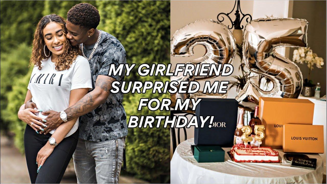 MY GIRLFRIEND SURPRISED ME FOR MY BIRTHDAY!