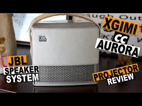 JBL Speaker 720p Portable Projector: XGIMI CC Aurora Review
