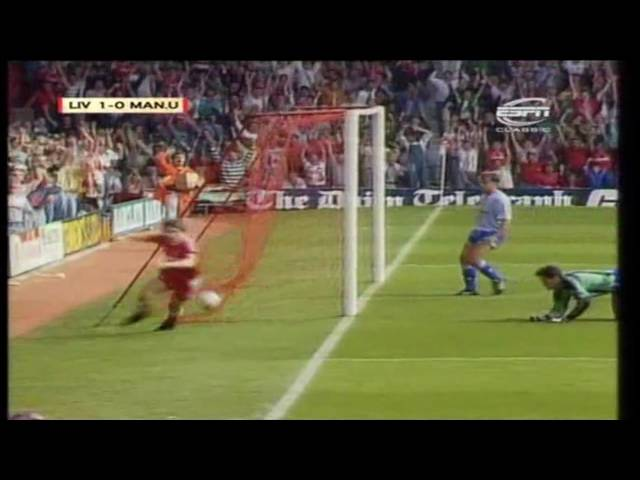 Liverpool 4-0 Manchester United 1990-91 (Beardsley hat-trick)