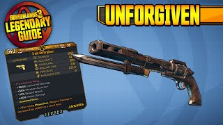 ONE-SHOT EVERYTHING?! | UNFORGIVEN - Legendary Item Guide [Borderlands 3]
