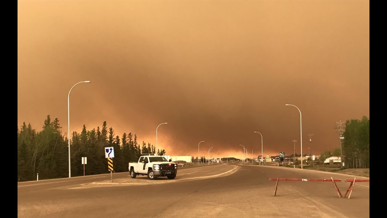 JUNE 2019: Thousands displaced by wildfires in Alberta, northern Ontario