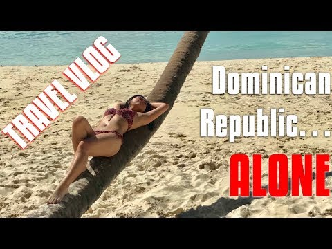 TRAVELING ALONE TO DOMINICAN REPUBLIC | Travel Vlog | Sindy with an S' Vlog [021]