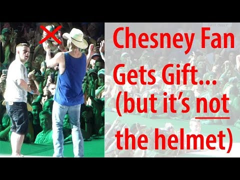 Kenny Chesney Fan Gets Gift Tampa, FL 4/21/2018