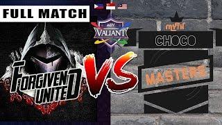 Forgiven United (Squammy Version) vs. Myth Choco Masters - Round 2 - Full Match - Tournament
