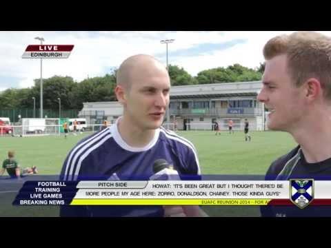 Trans World Soccer - Edinburgh University Athletic Football Club Reunion Tournament