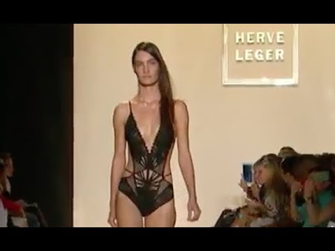 HERVE LEGER Spring Summer 2013 New York - Fashion Channel