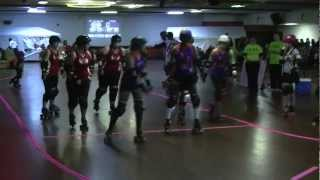 ICT Roller Girls vs OKC Roller Derby at Skate South in Wichita, KS  03/10/12  (1A)