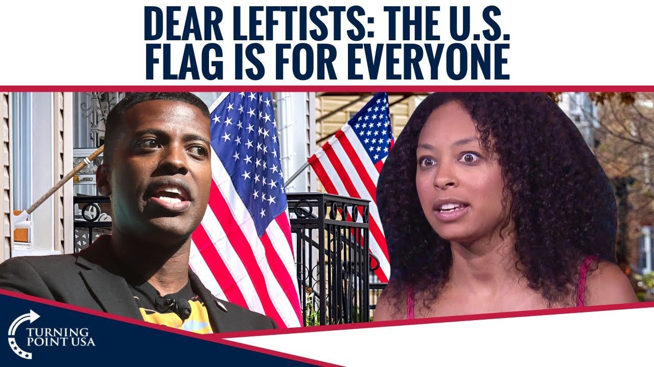 Dear Leftists: The U.S. Flag Is For Everyone