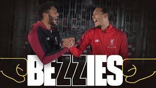 BEZZIES with Van Dijk & Gomez | 'Your locker is like a beauty counter'