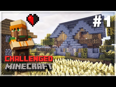 A Fresh Start! - 1.16 Minecraft Survival Let's Play | Challenged: Episode 1
