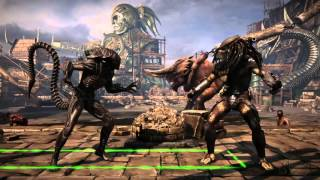 Mortal Kombat X_PROVANDO A ALIEN Y RECOBRANDO HISTORIA DE AVP ( ALIEN VS PREDATOR )