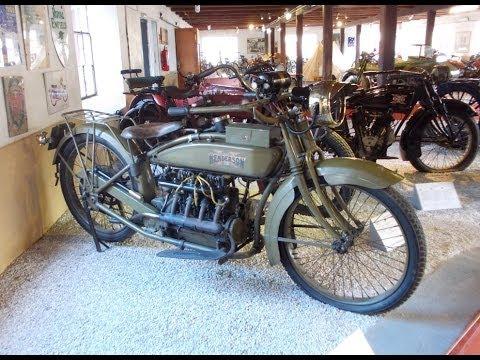 Henderson 1917 motorcycle
