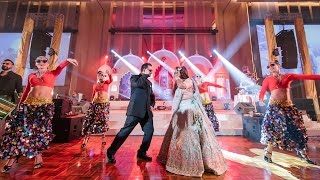 Kala Chashma | Amazing Entrance Dance Akshi & Rohan at AVANI Riverside Bangkok Hotel - Thailand