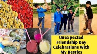 నా Best Friendsతో Friendshipday Vlog|Unexpected Celebrations|For Knowing Better About Them