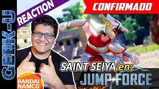 jump force seiya all interactions