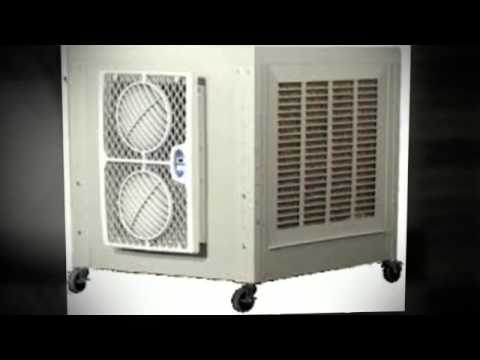 MMB8 WAREHOUSE GARAGE PORTABLE AIR CONDITIONER - YouTube
