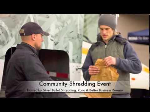 Local paper shredding events