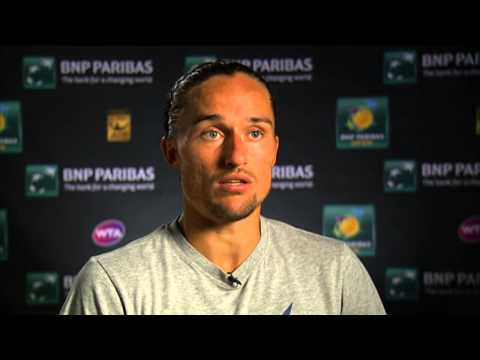 Indian Wells 2014 Quarterfinal Interview Dolgopolov