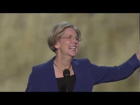 Elizabeth Warren at the 2012 Democratic National Convention