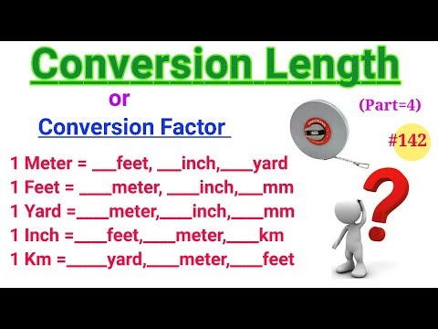 meters in feet and inches