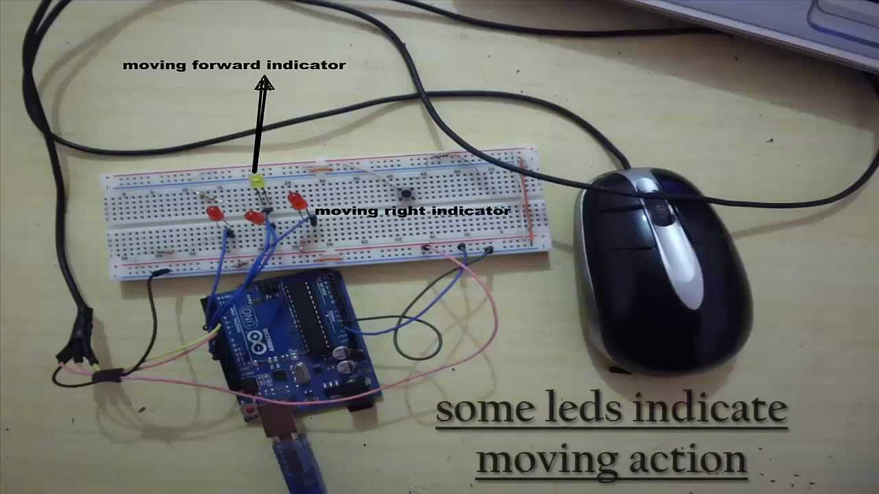 interface arduino with ps 2 mouse [ 1280 x 720 Pixel ]