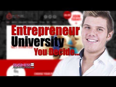 Entrepreneur or University