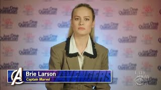 Brie Larson's Failed Attempt At Comedy