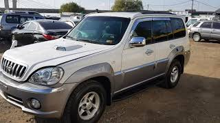 2001 hyundai terracan 4WD/auto/sunroof