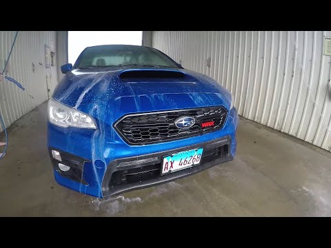 2018 Subaru WRX: Not Your Average Car Wash