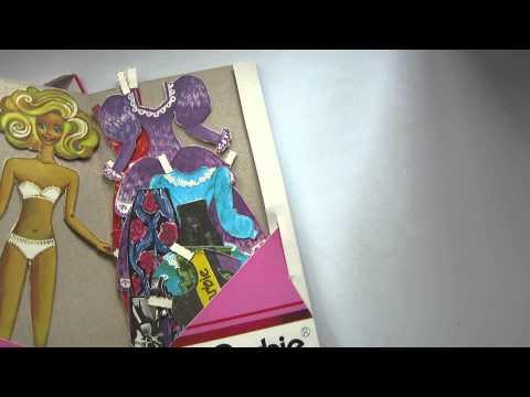 Ностальгия 90х: Бумажная кукла Barbie
