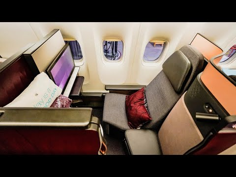 Qatar Airways Business Class - NEW QSuite - Boeing 777-300ER - London Heathrow to Doha (QR6)
