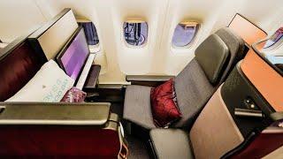 Best business class in the world! Qatar Airways Q Suite - Boeing 777-300ER - London to Doha (QR6)