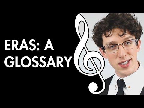 Eras: A Glossary