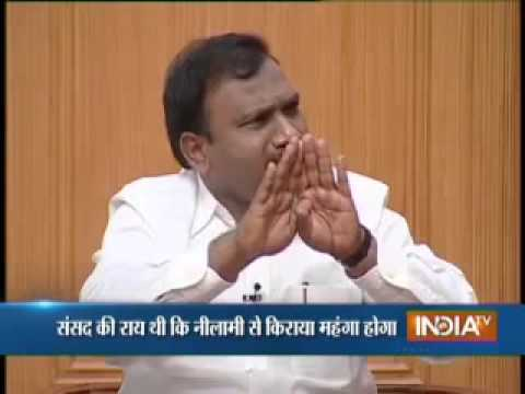 A Raja Interview to India TV reg 2G Spectrum Allocation -Aap Ki Adalat