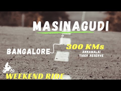 Bangalore to Masinagudi | Gaganachukki Falls | Shivanasamudra | Bandipur | Weekend ride Night Safari