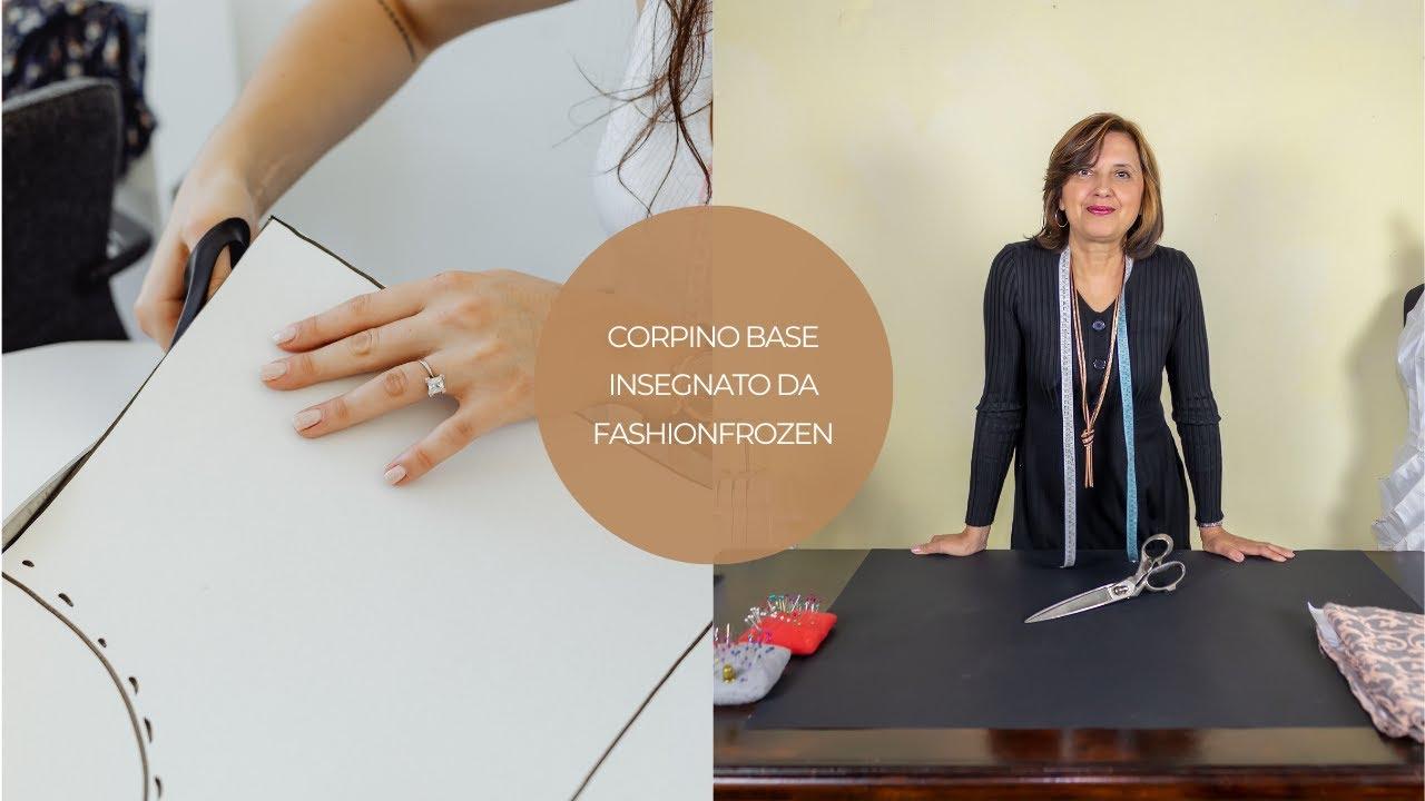 31929612ba54 Corpino base insegnato da FashionFrozen - YouTube