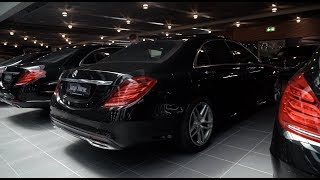 коротко о: Mercedes Benz S350 Long FULL w222 150.000евро цена нового