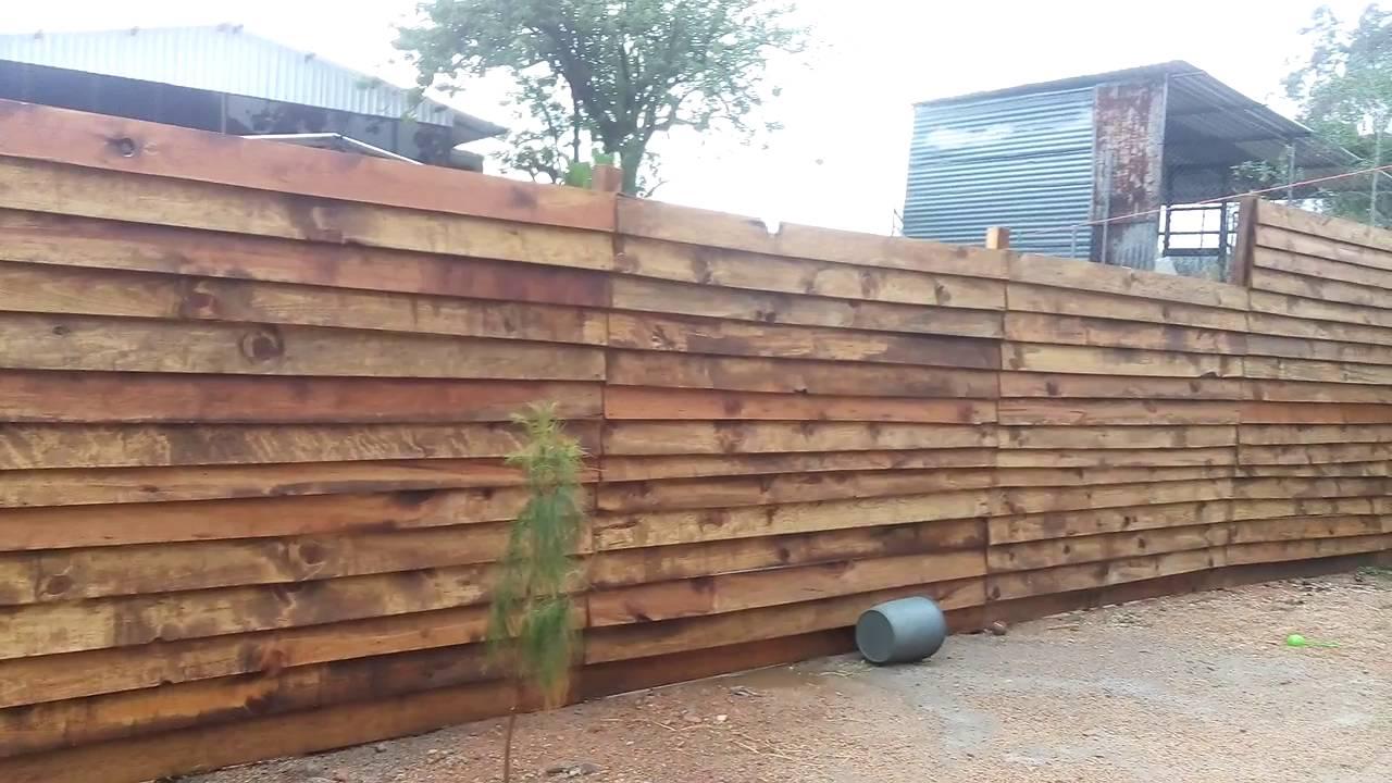 barda de madera youtube ForBarda De Madera Para Jardin